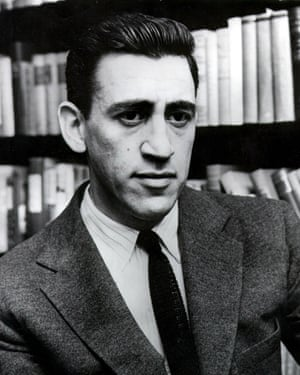 JD SALINGER, author of the American literary classic The Catcher In The Rye.