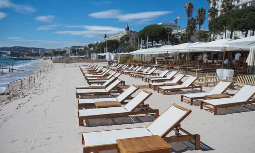 Isolation … the French Riviera is slowly reopening for business.