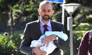 One-time One Nation media adviser Sean Black arrives at the district court in Brisbane on Friday. He was found guilt of rape and assault.