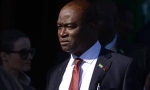 Sierra Leone's foreign minister Samura Kamara
