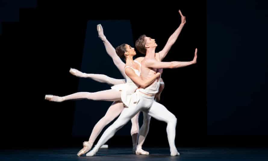 Vadim Muntagirov, Yasmine Naghdi, Anna Rose O'Sullivan and Mayara Magri in the Royal Ballet's Apollo.