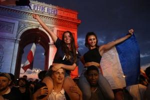 Celebrations in Paris
