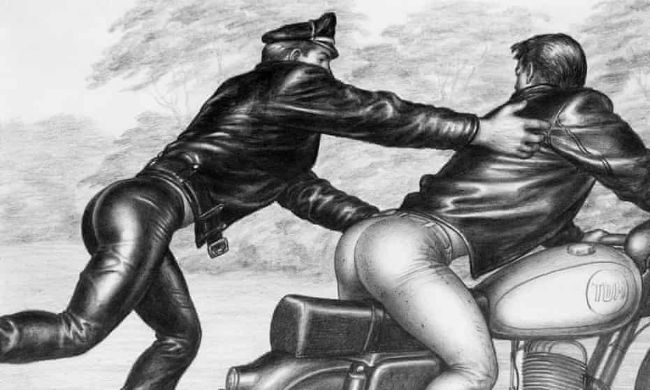 """Untitled, from the Athletic Model Guild """"Motorcycle Thief"""" series, 1964."""
