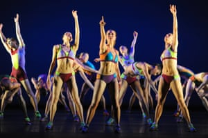 Faster: Samara Downs, Jade Heusen and Victoria Marr with Artists of Birmingham Royal Ballet, 2012