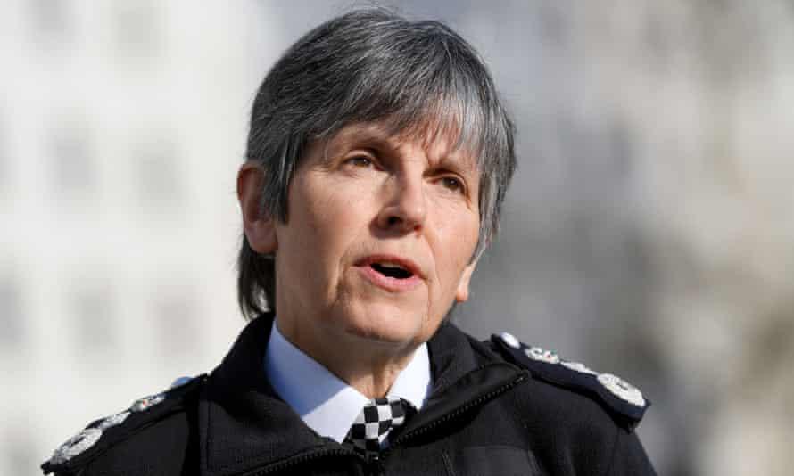 Cressida Dick, commissioner of the Metropolitan police service, in London