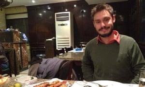 Giulio Regeni was murdered in Egypt in 2016.