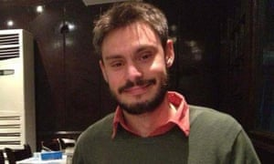 Giulio Regeni, who was tortured and killed in Egypt last year.
