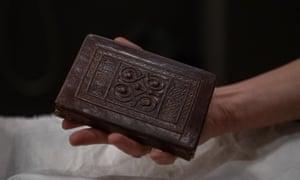 St Cuthbert Gospel, the oldest intact European book with its original binding.