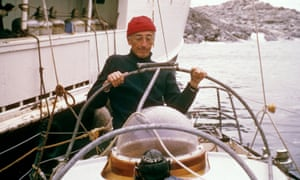 Still from The Undersea World of Jaques Cousteau. The 1960s TV show chronicling Cousteau's undersea explorations aboard the ex-Royal Navy minesweep, The Calypso