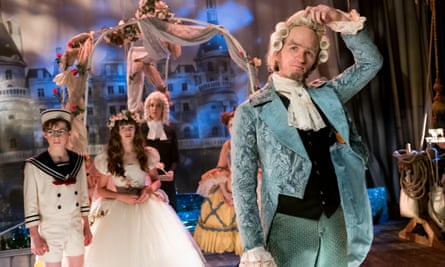 Morbid and precocious ... Neil Patrick Harris as Count Olaf.