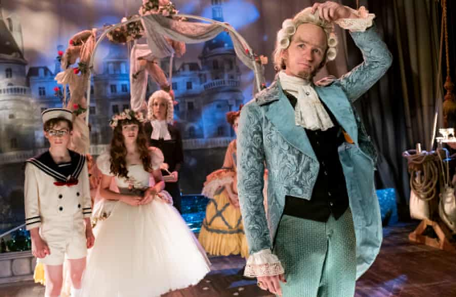 Bring on the pantomime evil … Neil Patrick Harris, right, as Count Olaf in A Series of Unfortunate Events.