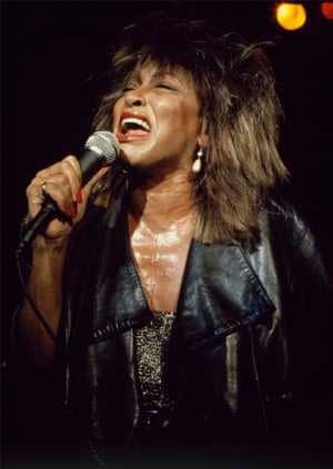 Tine Turner during the second leg of her Private Dancer tour in July 1985. It was a small gig to promote a later stadium date and Harbron was allowed rare intimate access for his shot.