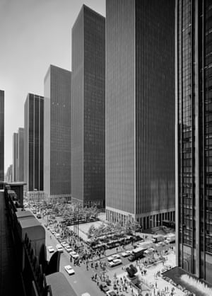 The Exxon Building on Sixth Avenue, New York