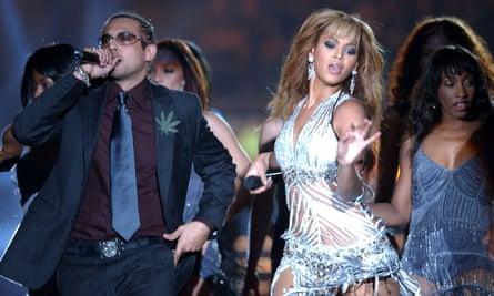 Sean Paul and Beyoncé in 2003.