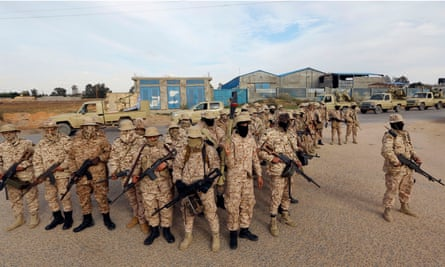 Members of Tripoli Protection Force