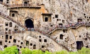 Longmen Caves, Luoyang, China.