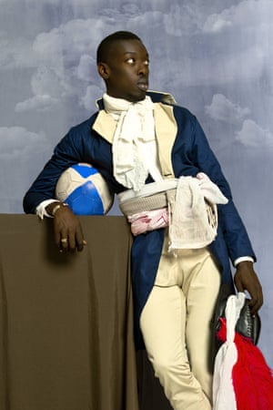 Omar Victor Diop in his DIASPORA series, 2015