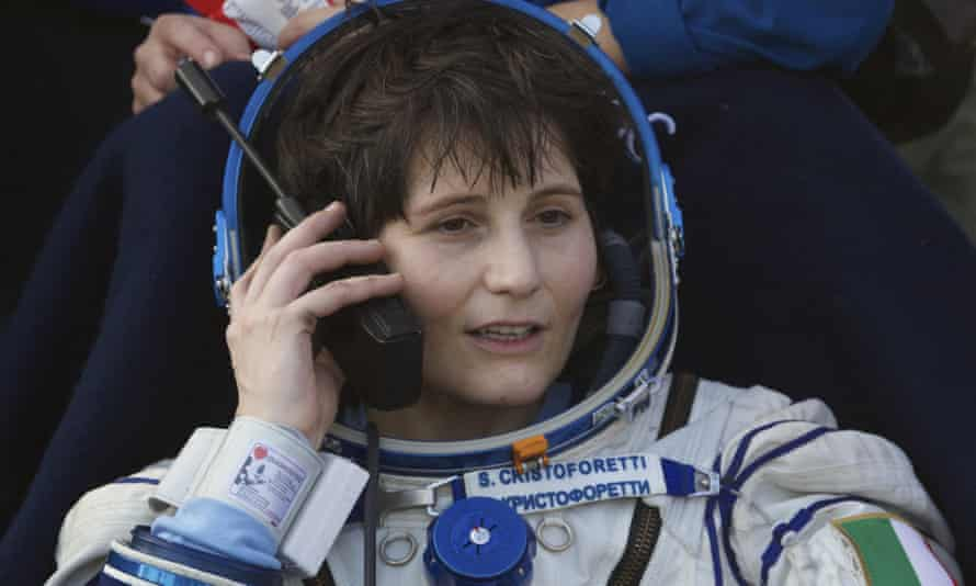 'When it comes to space travel, we are all disabled,' said Italian astronaut Samantha Cristoforetti.