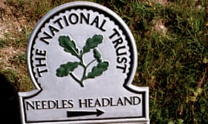 A National Trust sign
