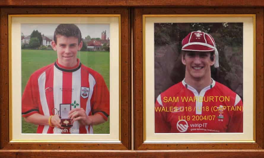 Gareth Bale and Sam Warburton, two more star names to come out of Whitchurch.