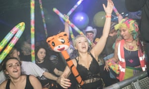 Lasers, robots and DJ Lara Croft's Dentist: the rave lunacy