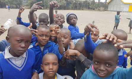 Children at Gatoto school.
