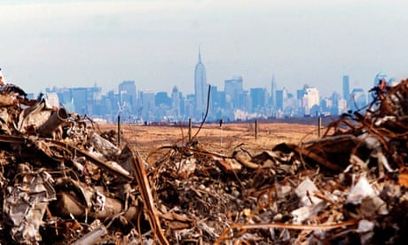 What does New York do with all that trash? One city's waste