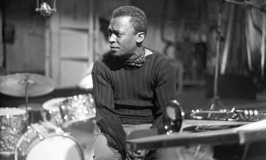 Miles Davis during rehearsals for an episode of The Robert Herridge Theatre, New York, 1959.