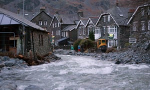 Flooding in Glenridding