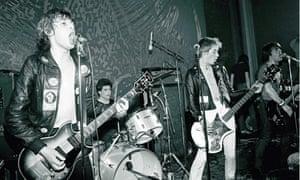 Belfast punks Stiff Little Fingers.