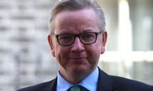 Michael Gove, the justice secretary. He has dismissed Theresa May's call for the UK to leave the ECHR