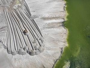 Phosphor Tailings Pond #4, Near Lakeland, Florida, 2012