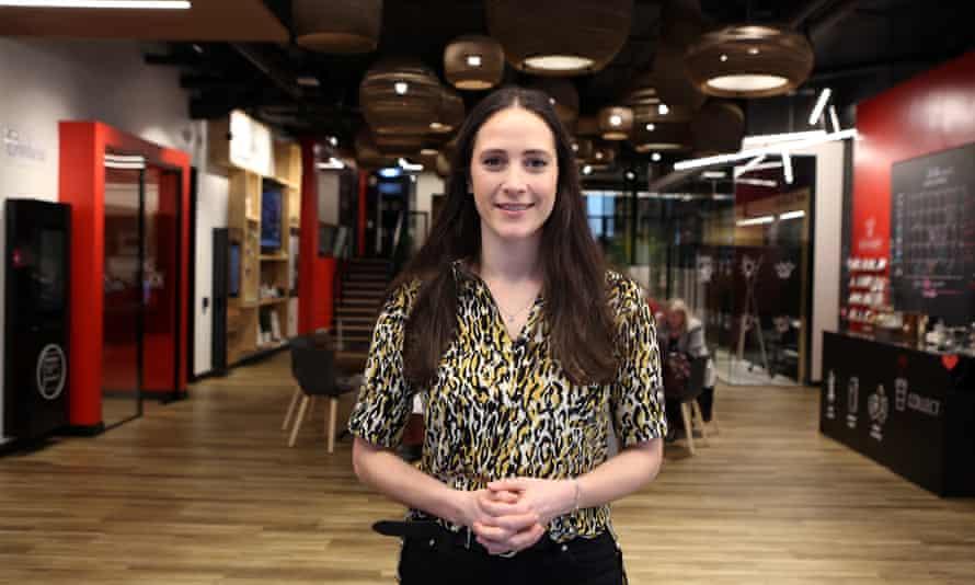 Bella Gamsu at the Work Cafe in Leeds
