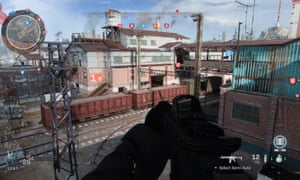 The Ground War map: tall towers and elevated windows make for multiple sniping positions.