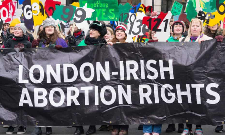 Abortion rights campaigners
