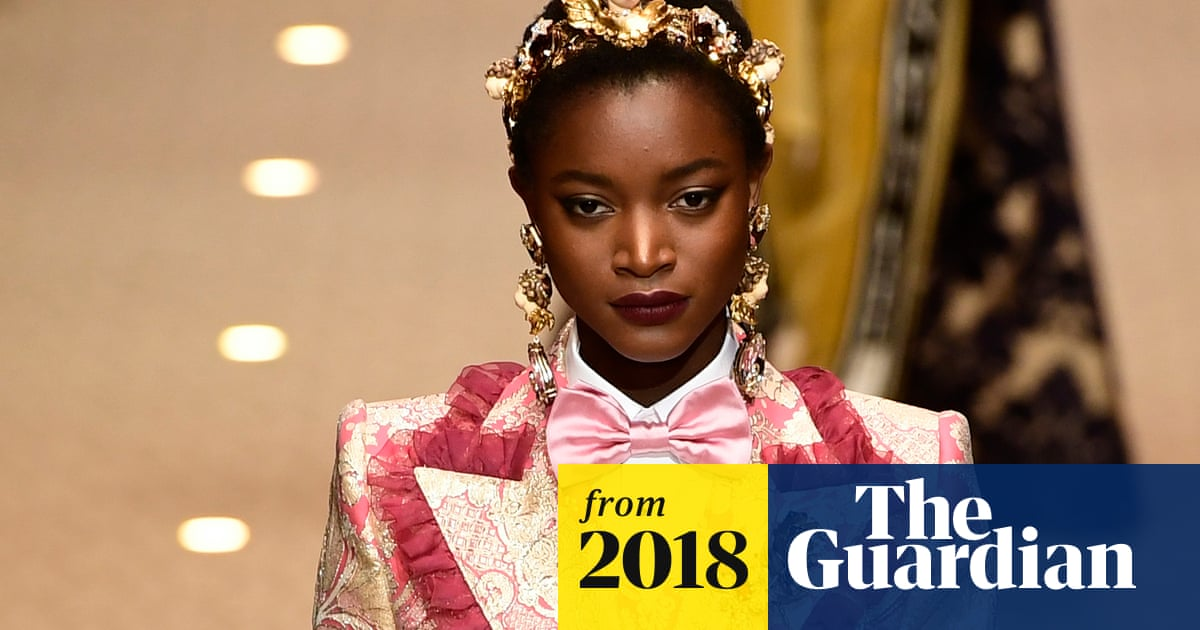 16c76f4442d6 Dolce & Gabbana's new show is declaration of love to fashion industry |  Fashion | The Guardian