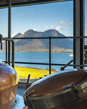 Steel drums: Raasay opened its first (legal) distillery in 2017