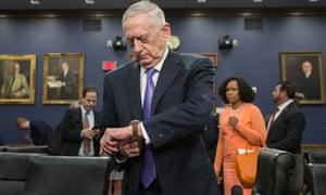 As a general, defense secretary James Mattis was hawkish on Iran.