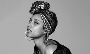 Alicia Keys in a #nomakeup image.