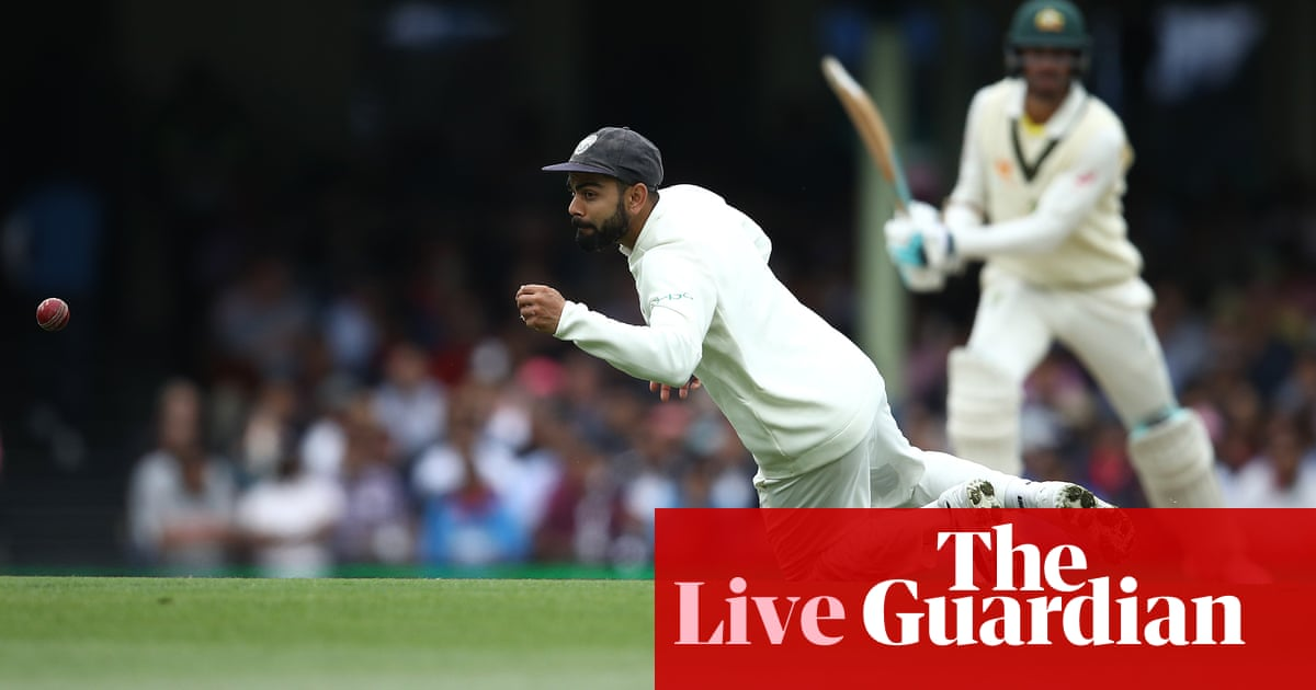 33b4a6fdcd Australia v India: fourth Test, day four – as it happened | Sport ...