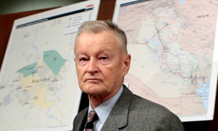 Zbigniew Brzezinski in 2007. He warned that the US was destined to be not only the first but also the 'last truly global superpower'.