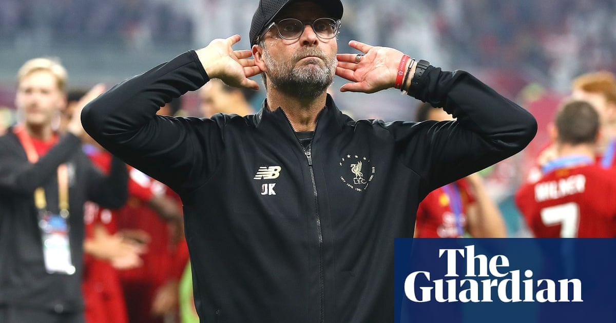 Operation win: Klopp's focus and Liverpool's momentum key to the title