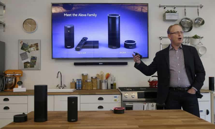 David Limp, Amazon's senior vice-president of devices