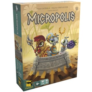 Micropolis sees players compete to build thriving ant colonies.