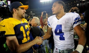 Dak Prescott bested Aaron Rodgers with another strong display for the Cowboys on Sunday
