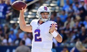 Nathan Peterman had a shocking first NFL start on Sunday