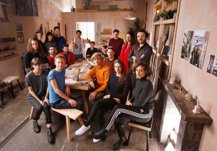 Turner prize-winning architectural collective Assemble.
