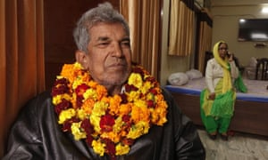 Mohammad Shoaib, 73, was accused of leading the Lucknow protest while he was under house arrest