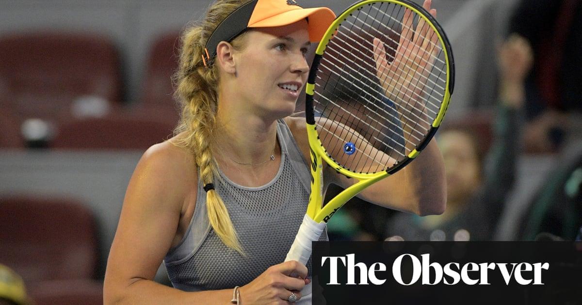 Defiant Caroline Wozniacki will end turbulent career with head held high