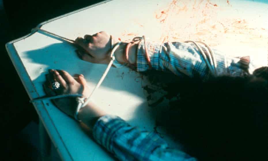 Rape Scene, by Ana Mendieta.